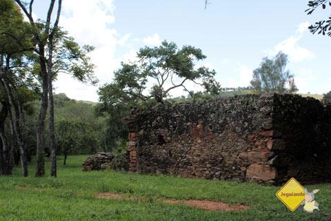 Ruínas da casa onde Tiradentes nasceu. Fazenda do Pombal, Ritápolis, MG. Imagem: Erik Pzado