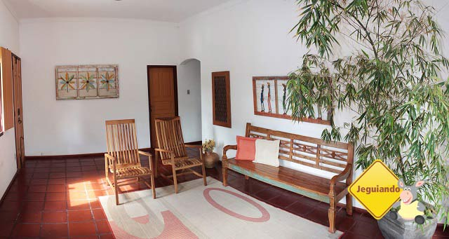 Sala de estar. Pousada do Ó, Tiradentes, Minas Gerais. Imagem: Erik Pzado