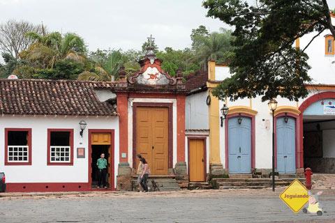 Largo das Forras - Centro Histórico de Tiradentes, MG. Imagem: Erik Pzado