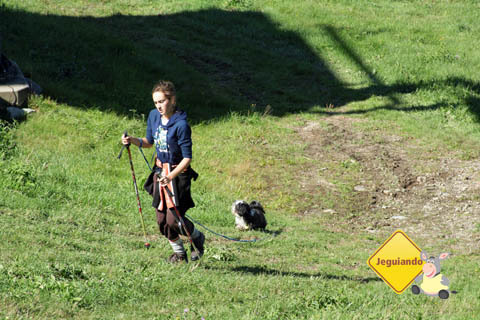 Hiking (caminhada) no Mont Sutton. Eastern Townships, Canadá. Imagem: Erik Pzado