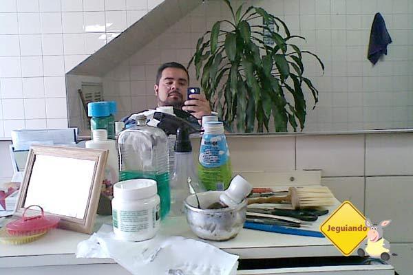 Vista da cadeira do Barbeirinho, Sr. Heitor - Imagem: Erik Pzado