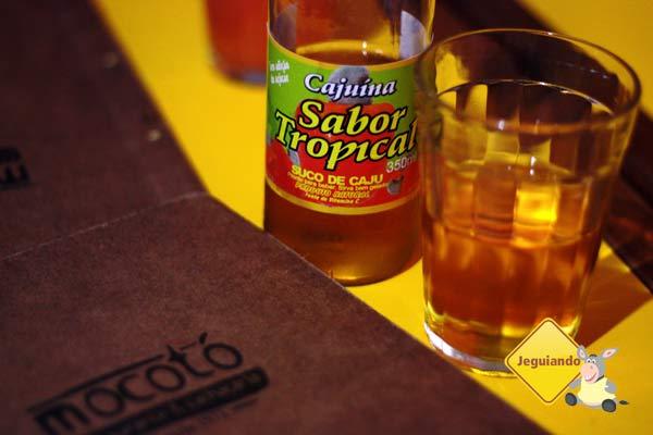 Cajuína! Restaurante Mocotó, comida típica nordestina em São Paulo, SP. Imagem: Erik Pzado
