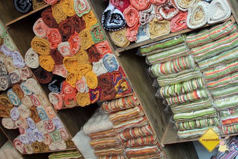Resende Costa, Minas Gerais, cidade é parada obrigatória para os interessados em arte têxtil. Imagem: Erik Pzado