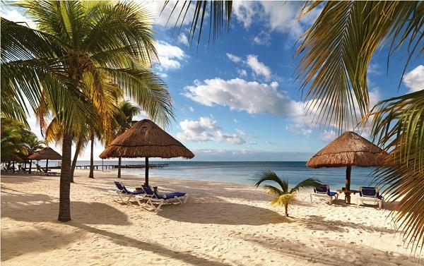 Isla Mujeres Palace, ideal para casais. Imagem: Divulgação