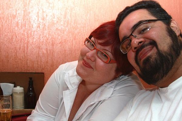 Jana e Erik no Mocotó. Imagem: Erik Pzado