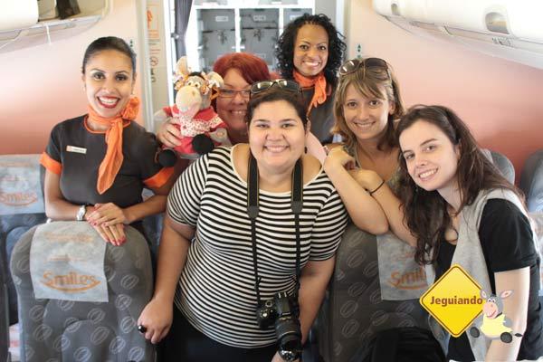 Fim do voo especial para comemorar o Dia das Mulheres. Imagem: Jeguiando