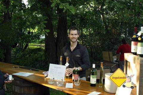 Degustação de vinhos na vinícola de l'Orpailleur. Dunham, Canadá. Imagem: Erik Pzado