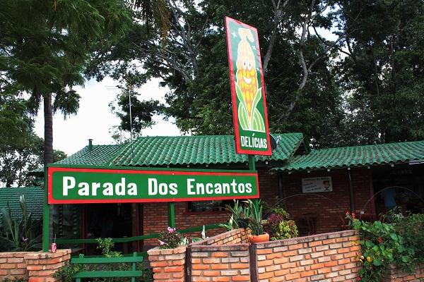 Delícias - Parada dos Encantos, para quem adora produtos feitos de milho! Imagem: Janaína Calaça