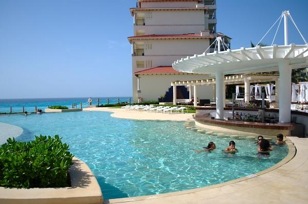 Grand Park Royal Cancún Caribe - dica de hospedagem em Cancún, México. Imagem: Arquivo Jeguiando