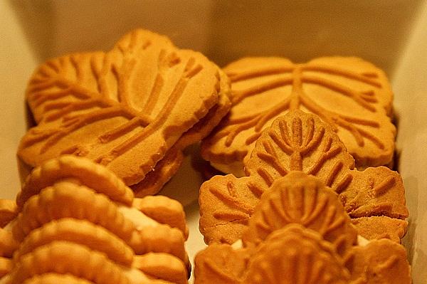Biscoitinhos de Mapple da Les Délices de l'Erable, Montréal, Canadá. Imagem: Erik Pzado