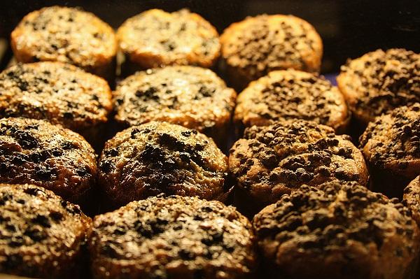 Muffins da Les Délices de l'Erable, Montréal, Canadá. Imagem: Erik Pzado