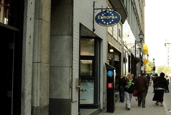 Europea Space Boutique e seus famosos macarons. Montréal, Canadá. Imagem: Erik Pzado
