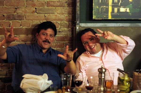 Kash e Márcio Nel Cimatti. Imagem: Erik Pzado