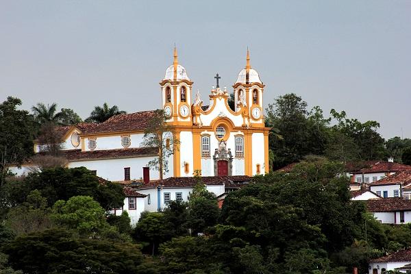 Igreja Matriz de Santo Antônio, Tiradentes, Minas Gerais. Imagem: Erik Pzado