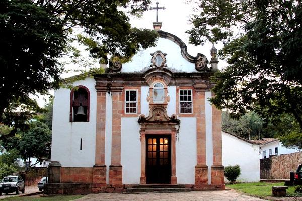 Capela de Nossa Senhora do Rosário. Tiradentes, MG. Imagem: Erik Pzado