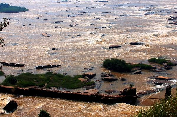 O Rio São Francisco visto de Buritizeiro, MG. Imagem: Janaína Calaça