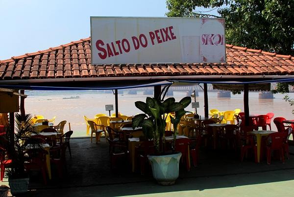 Barzin à beira do Velho Chico. Imagem: Janaína Calaça