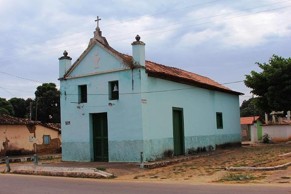 Igreja de São Sebastião. Ibiaí, MG. Imagem: Janaína Calaça
