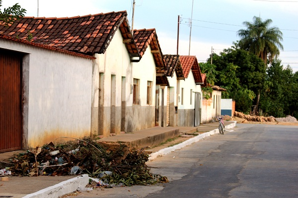 Casinhas. Ponto Chique, MG. Imagem: Janaína Calaça