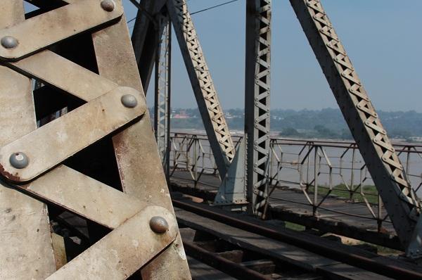 Ponte Velha, Pirapora, MG. Imagem: Janaína Calaça