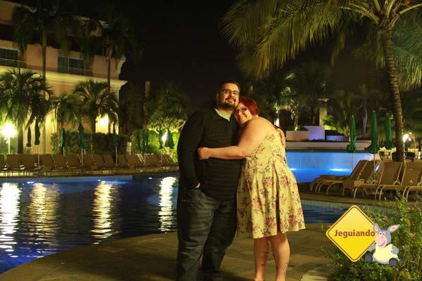À noite, no Royal Palm Plaza Resort. Imagem: Jeguiando