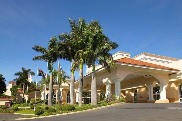 Fachada do Royal Palm Plaza Resort Campinas - Campinas, São Paulo. Imagem: Divulgação