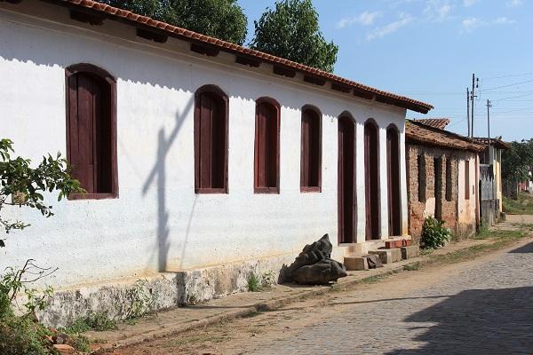 Casinhas de São Romão, MG. Imagem: Janaína Calaça