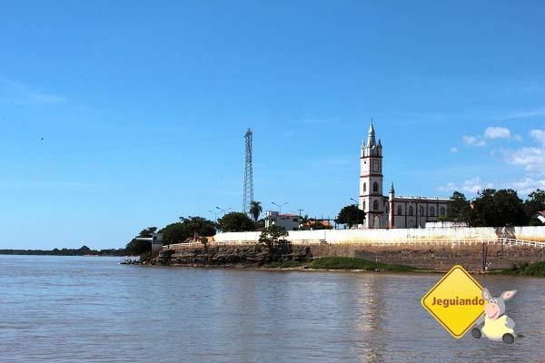 Igreja Matriz de São José, vista do rio São Francisco. Imagem: Janaína Calaça