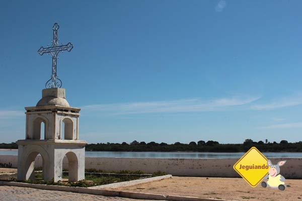 Cruzeiro, ideal para assistir ao pôr do sol. São Francisco, MG. Imagem: Janaína Calaça