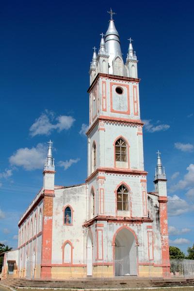 Igreja Matriz de São José. São Francisco, MG. Imagem; Janaína Calaça