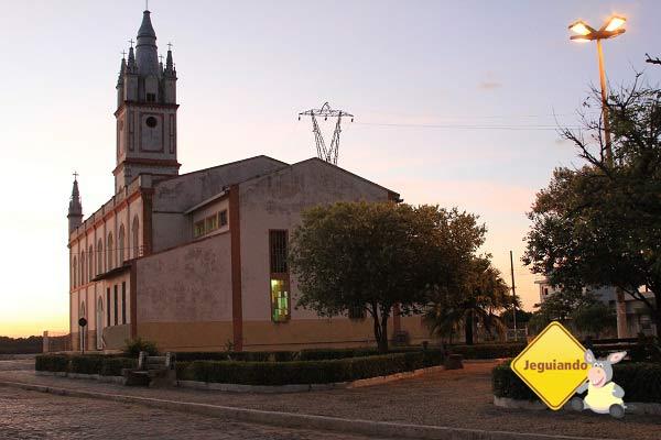 Igreja Matriz de São José no fim da tarde. Imagem: Janaína Calaça