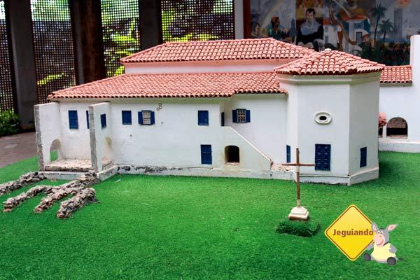 Maquete do Castelo Garcia D'ÁVila. Imagem: Erik Pzado