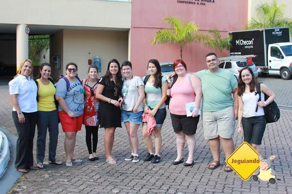 Adriana, Camila, Rapha, Cris, Rê, Larissa, Sara, Jana, Erik e Larissa. Encontro de Jornalistas e Blogueiros do Vila Galé Eco Resort. Imagem: Jeguiando