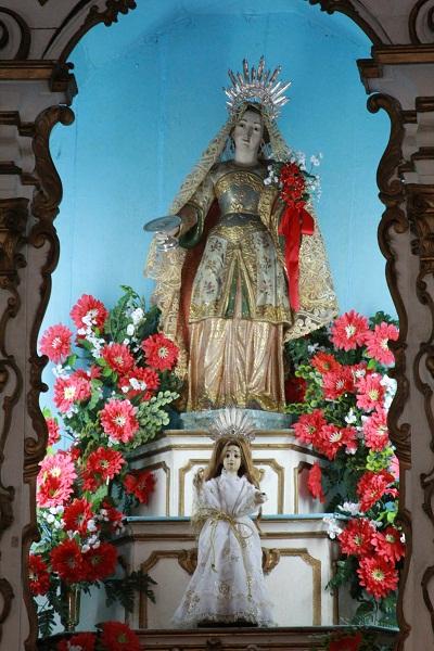 Igreja de Santa Luzia, Angra dos Reis, RJ. Imagem: Erik Pzado