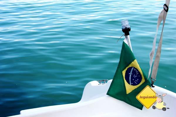Os verdes do mar e de nossa bandeira. Imagem: Janaína Calaça