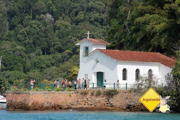 Igreja de Nossa Senhora da Piedade, Ilha da Gipóia. Imagem: Erik Pzado