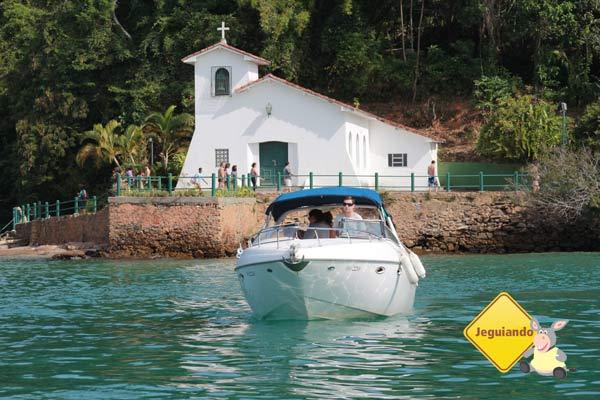 Igreja de Nossa Senhora da Piedade. Ilha da Gipóia, Angra dos Reis, RJ. Imagem: Erik Pzado