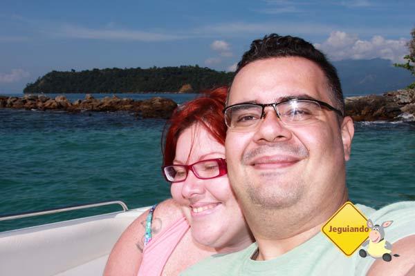 Jana e Erik nas Ilhas Botinas, Angra dos Reis, RJ. Imagem: Erik Pzado