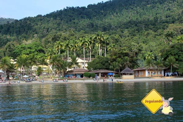 Vila Galé Eco Resort de Angra visto do mar. Angra dos Reis, RJ. Imagem: Erik Pzado
