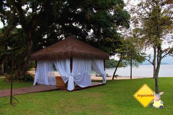 Área bacana para um bate-papo! Vila Galé Eco Resort de Angra. Angra dos Reis, RJ. Imagem: Erik Pzado