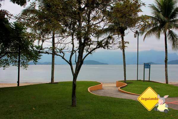 Mar visto Vila Galé Eco Resort de Angra. Angra dos Reis, RJ. Imagem: Erik Pzado