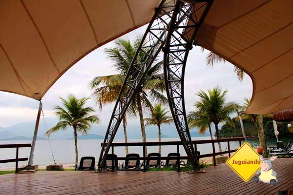 Área para relaxar e ver o mar. Vila Galé Eco Resort de Angra. Angra dos Reis, RJ. Imagem: Erik Pzado