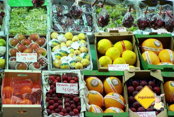 Frutas. Mercado Municipal de São Paulo ou Mercadão. Imagem: Janaína Calaça