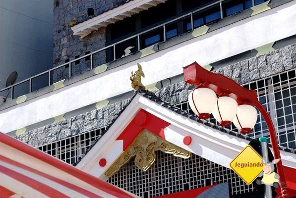 Liberdade, bairro de colonização japonesa em São Paulo. Imagem: Arquivo Jeguiando