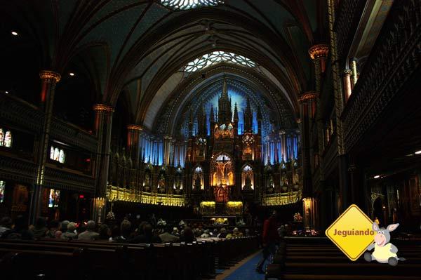 Basílica de Notre-Dame. Montréal, Canadá. Imagem: Erik Pzado