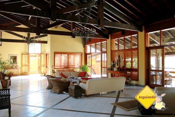 Área de convivência. Canto da Floresta Eco Resort, Amparo, SP. Imagem: Erik Pzado