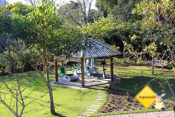 Academia. Canto da Floresta Eco Resort, Amparo, SP. Imagem: Erik Pzado