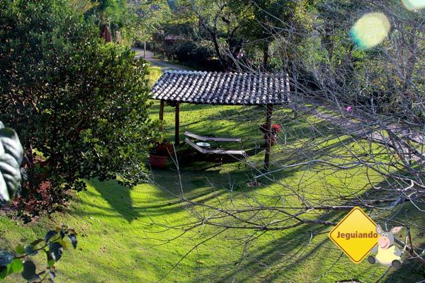 Cantinho para relaxar. Canto da Floresta Eco Resort, Amparo, SP. Imagem: Erik Pzado