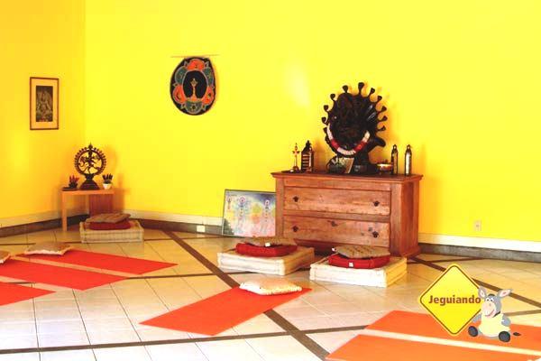 Sala de meditação. Imagem: Erik Pzado