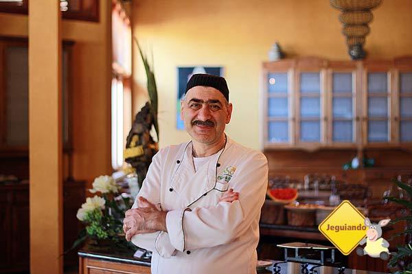 Chef Rabi Abdo, responsável pela área de gastronomia do Canto da Floresta Eco Resort. Imagem: Erik Pzado